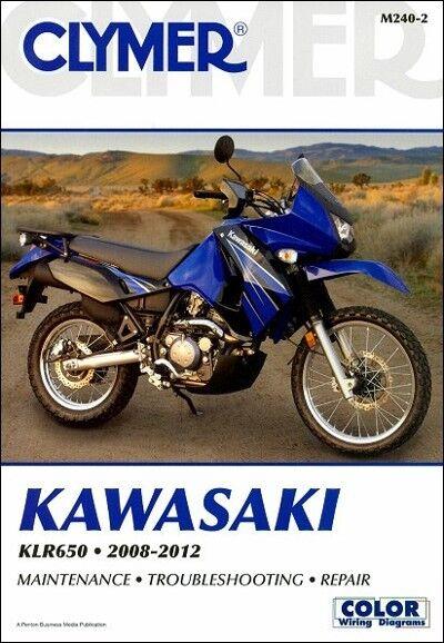 2008 2012 Kawasaki Klr650 Kl Klr 650 Clymer Repair Manual M240 Ebay
