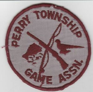 Perry Canton Game Association Patch Shoemakersville Pennsylvania Shoey-e Pennsylvania Shoeyafficher Le Titre D'origine
