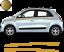 Renault-Twingo-Bandes-Zebres-Stickers-adhesifs-decoration-couleur-au-choix miniature 8
