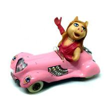 VINTAGE CULT TV 70s Corgi toys MUPPET SHOW Miss Piggy die cast Car NICE