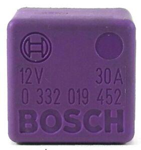 Vauxhall-Saab-Fuel-Pump-4-Pin-Purple-Relay-Bosch-0332019452-GM-90464759-OEM