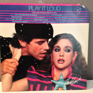 PLAY-IT-LOUD-Arista-Compliation-Like-K-TEL-12-034-Vinyl-Record-LP-EX