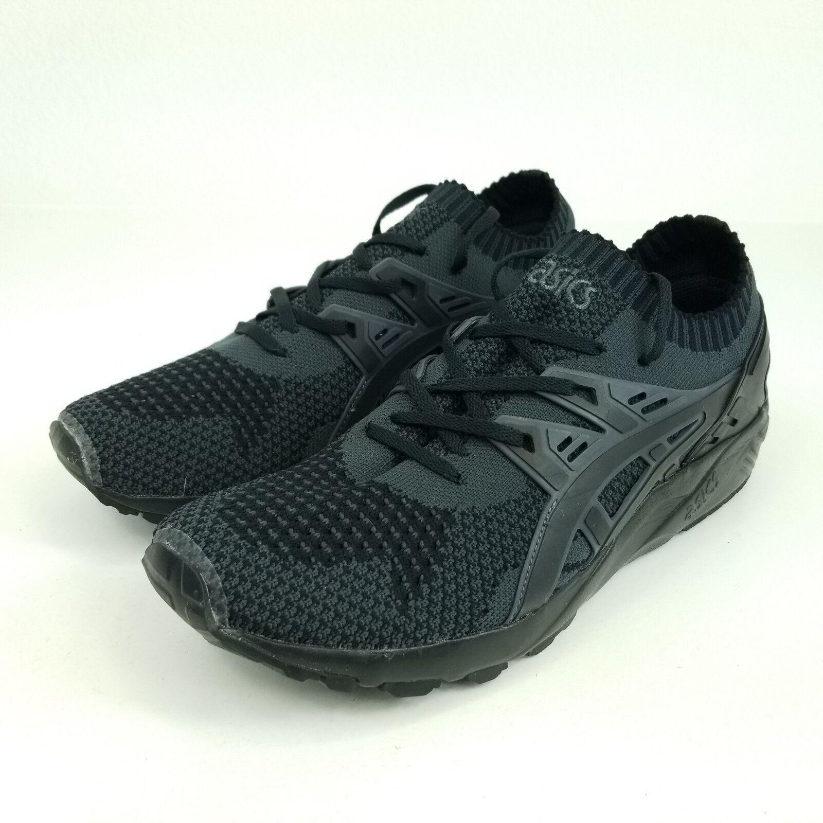 ASICS Gel-Kayano Trainer Knit Mens Sz 11 Shoes Dark Grey/Black H705N.9590
