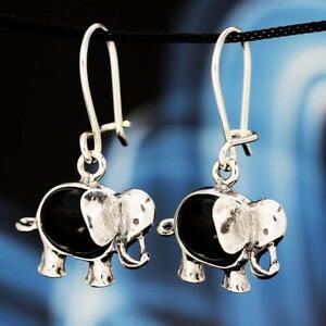 Onyx-Silber-925-Ohrringe-Damen-Schmuck-Sterlingsilber-H0234