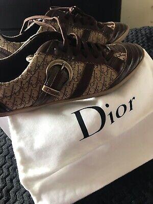 Designer, Vintage, Brown, Dior