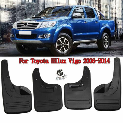 4pc Car Mud Flaps Mudguards Fender Splash Guards For Toyota Hilux Vigo 2006-2014