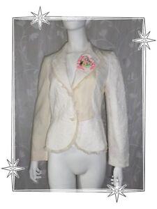 Christian Multi Lacroix T Jacket Bazar Material A Magnificent Ecru Blazer 38 gYwnUqp