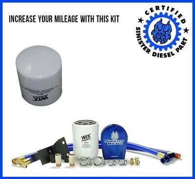 Sinister Diesel Coolant Filtration System for Ford Powerstroke 2003-07 6.0L