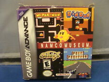 Namco Museum  BOXED NINTENDO Game Boy Advance