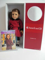 American Girl 18 Original Rebecca Doll & Book - Now Retired - Brand In Box