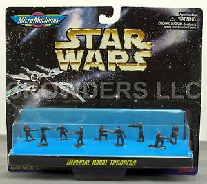 Micro Machines Star Wars Imperial Naval Troopers 9 Figure Collection '96 Galoob