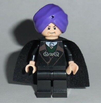 HARRY POTTER #28 Lego Professor Quirrell Sorcerer/'s Stone Custom Genuine Lego