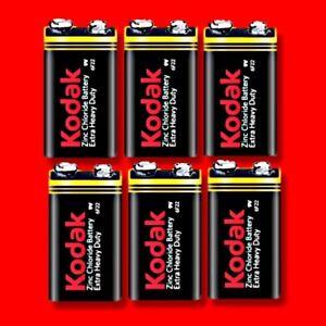 10-x-KODAK-9V-BATTERY-EXTRA-HEAVY-DUTY-PP3-SQUARE-SMOKE-ALARM
