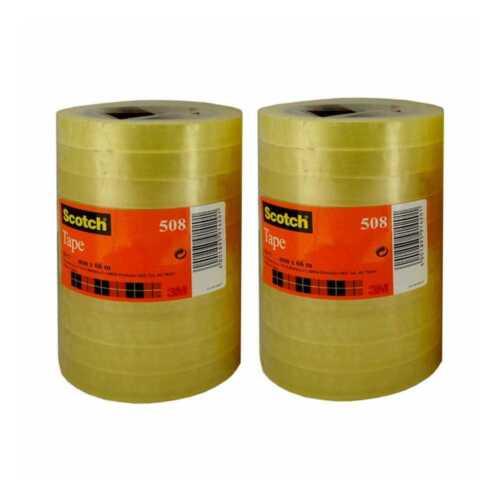 €0,01//m Kern76mm np 24x Scotch 508 Klebefilm Klebeband transparent 12mm x66m