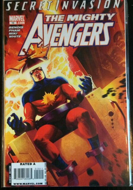 Mighty Avengers (2008) #19 VF 1st Print Marvel Comics