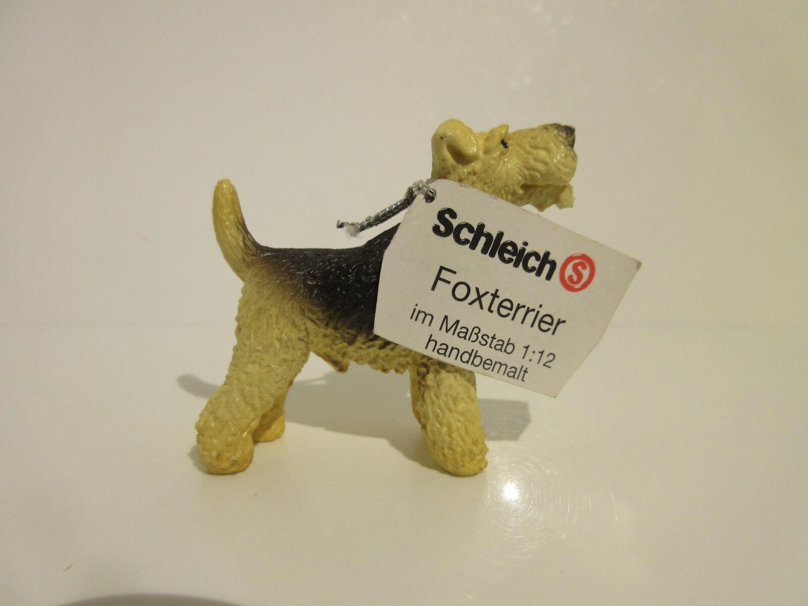 16310  Schleich Dog: Fox Terrier   with booklet  ref:21P42