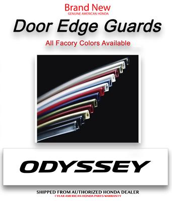Honda Odyssey 08P20-THR-130A Door Edge Guards Modern Steel Metallic
