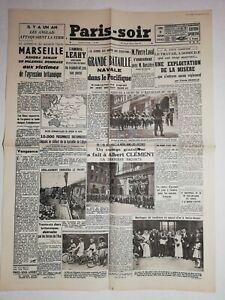 N1132-La-Une-Du-Journal-Paris-soir-8-juin-1942-bataille-navale-pacifique