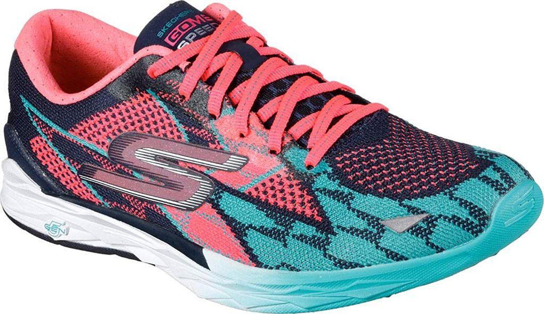 SKECHERS Damenschuhe 4 GO MEB SPEED 4 Damenschuhe WALKING Schuhe #14101/NVHP 360c10