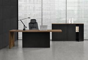 Schreibtisch büromöbel  neu.haus] Chefschreibtisch + 2 Aktenschränke Chefzimmer ...