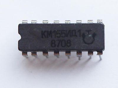 Lot of 6 KM155ID1 Ceramic Driver for Nixie Clock NEW SN74141J DM74141N MH74141