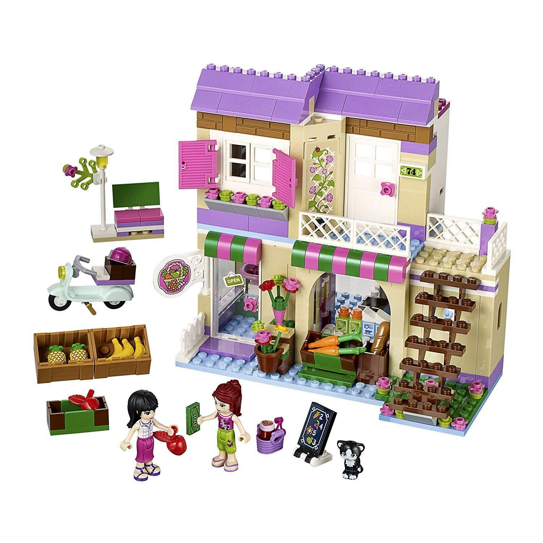 BNIB - LEGO Friends 41108 - Heartlake Heartlake Heartlake FOOD MARKET - Mia Maya Figures Supermarket 4ac334