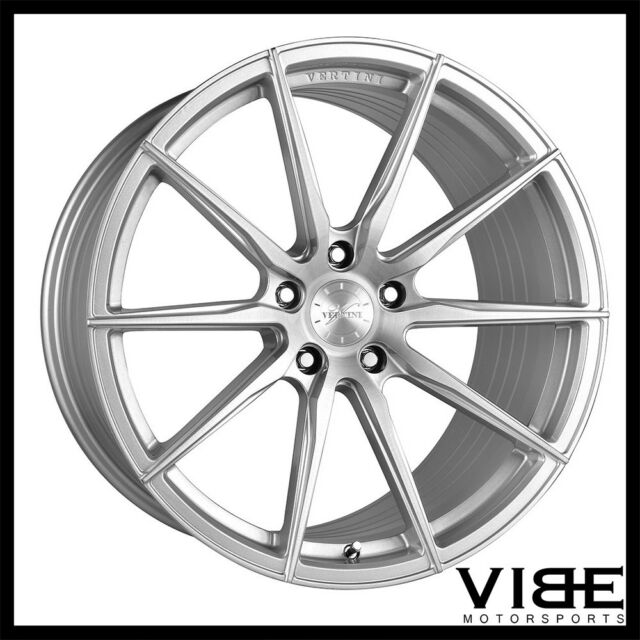 Buy 19 Vertini Rf1 1 Silver Forged Concave Wheels Rims Fits Bmw E92