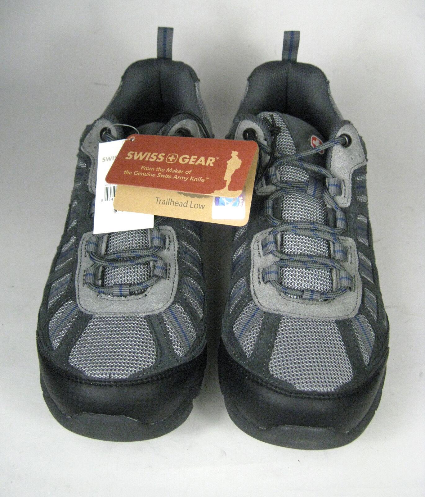 Swiss Gear botas de travesía para hombre EE. UU. 8 Hombres Zapatos Trailhead bajo gris