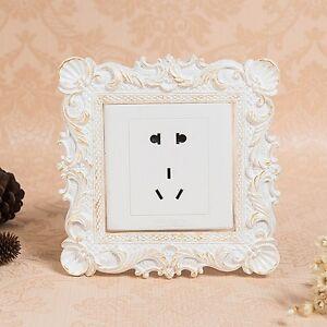 08 Gorgeous Resin Single Light Switch Surround Socket Finger Plate Panel Cover