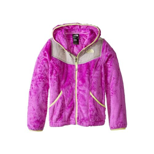Girls North Face Hoodie Oso Soft Fleece Full Zip Hooded Jacket NEW AUTHENTIC
