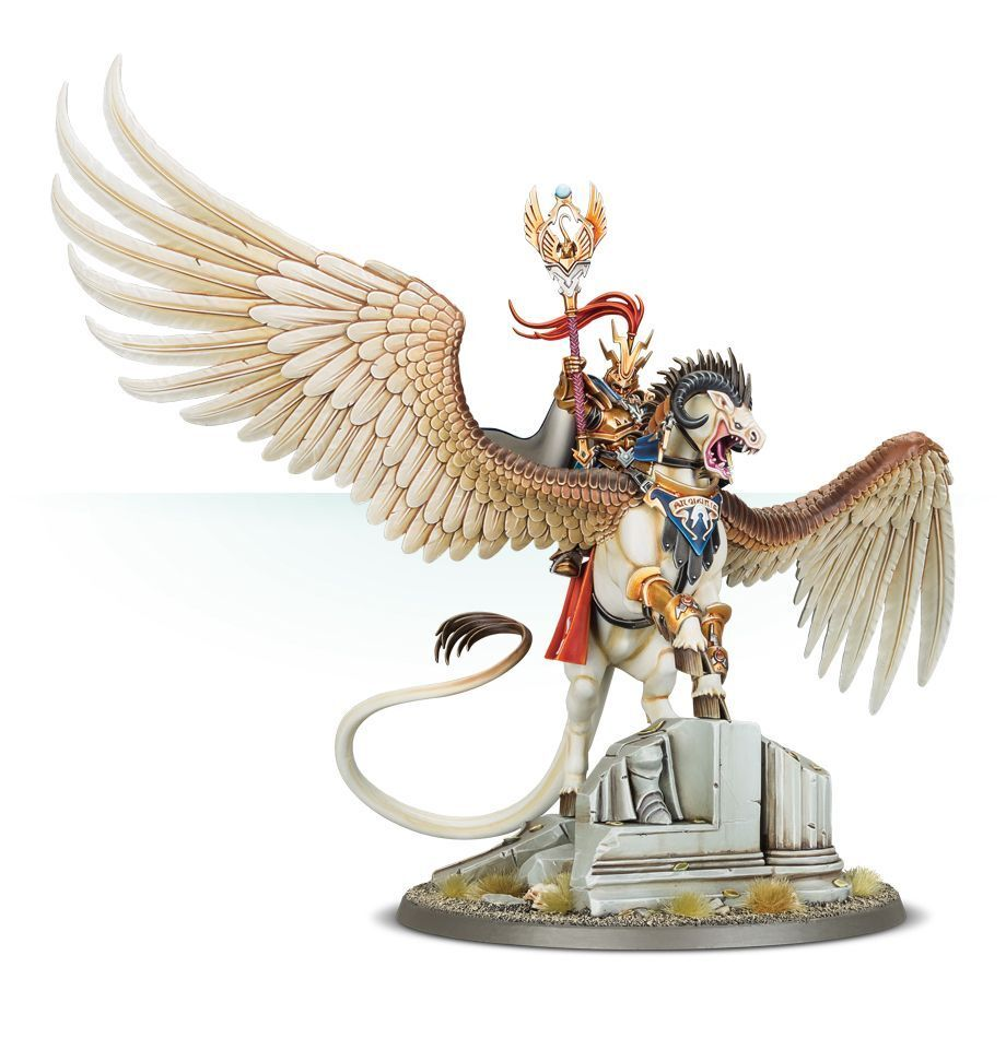 Aventis Firestrike Magister of Hammerhal Commission Painted Age Of Sigmar