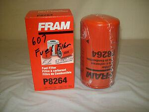 FRAM FUEL FILTER P-8264 -NAPA 3626-WIX 33626 | eBay