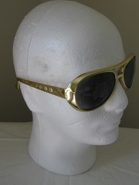 New 50's Elvis Style Glasses Perfect Rock n Roll Fancy Dress Costume Accessory