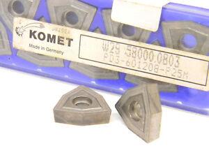 10-NEW-SURPLUS-KOMET-CARBIDE-INSERTS-W29-58000-0803-WOEX-120608-00P25M