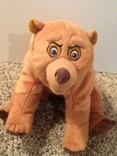 "Disney Movie Brother Bear Koda Kenal Stuffed Animal Plush Toy 14"", Excellent!"