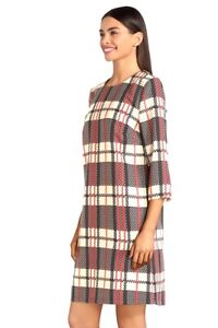 Molly Bracken - Robe à carreaux droite à -20%