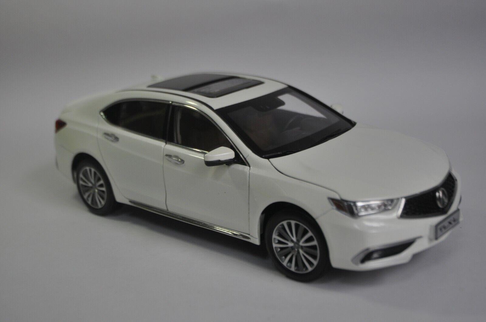 Acura TLX.L car model in scale 1 18 White