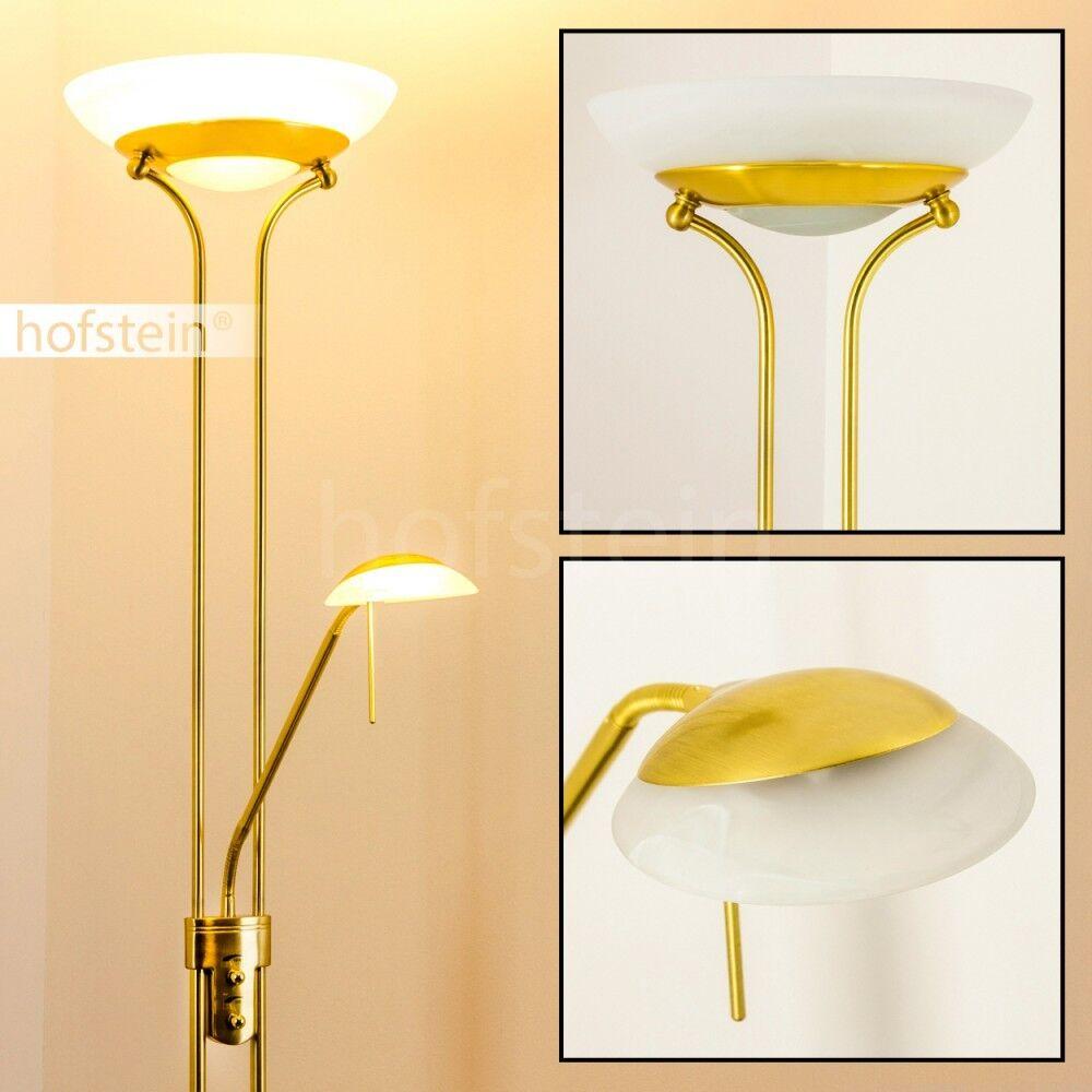 Led flood and reading light 1x5 1x18 Watt design floor standard lamp New 117648