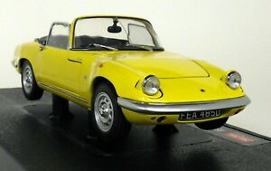 Sunstar-1-18-Scale-4056-1966-Lotus-Elan-SE-Roadster-Yellow-Diecast-model-car