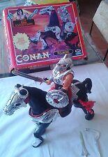 FULMINE GIG italy original 1994 HASBRO thunder horse + CONAN adventurer included