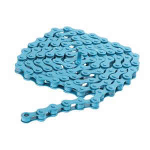 MTB-BMX-Fixie-Road-Bike-Chain-Single-Speed-Bicycle-Chain-1-2-034-X-1-8-034-BLUE