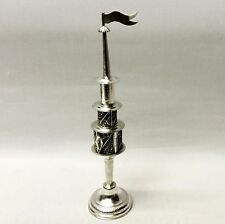 Antique German Silver Spice Tower Mid 19th century. Stock ID 8708