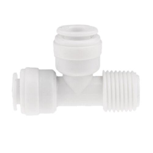3pcs Plastik 1/4 ''od To 1/4 Kugelhahn Kugelventil Absperrventil Ventile