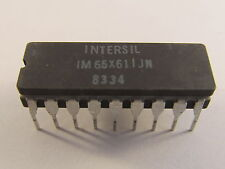 IM65X61IJN Intersil 1024 (256x4) Bit High Speed Static CMOS RAM