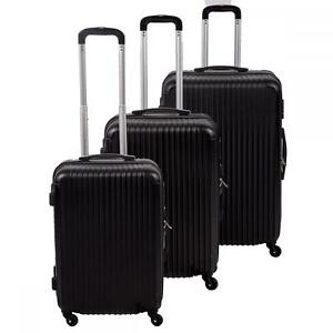 New 3 Pcs Luggage Travel Set Bag ABS Trolley Suitcase 4 Color 348 ...
