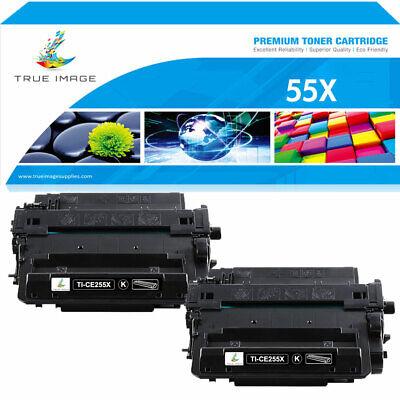4PK CE255A 55A Toner Cartridge Compatible For HP P3011 Enterprise P3015d P3016