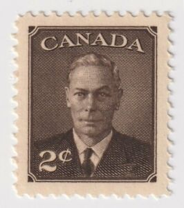 1949-1951 Canada - King George VI - 2 Cent Stamp
