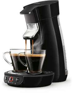 PHILIPS SENSEO Viva Café HD6563/61 Cafetière à dosettes Crema Plus Noir