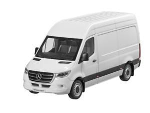 Mercedes-benz 1:18 coche modelo transporter recuadro carro sprinter w907 b66004162