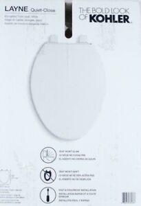 Stupendous Details About New Kohler Layne 30015 0 Quiet Close Elongated Toilet Seat White Ibusinesslaw Wood Chair Design Ideas Ibusinesslaworg